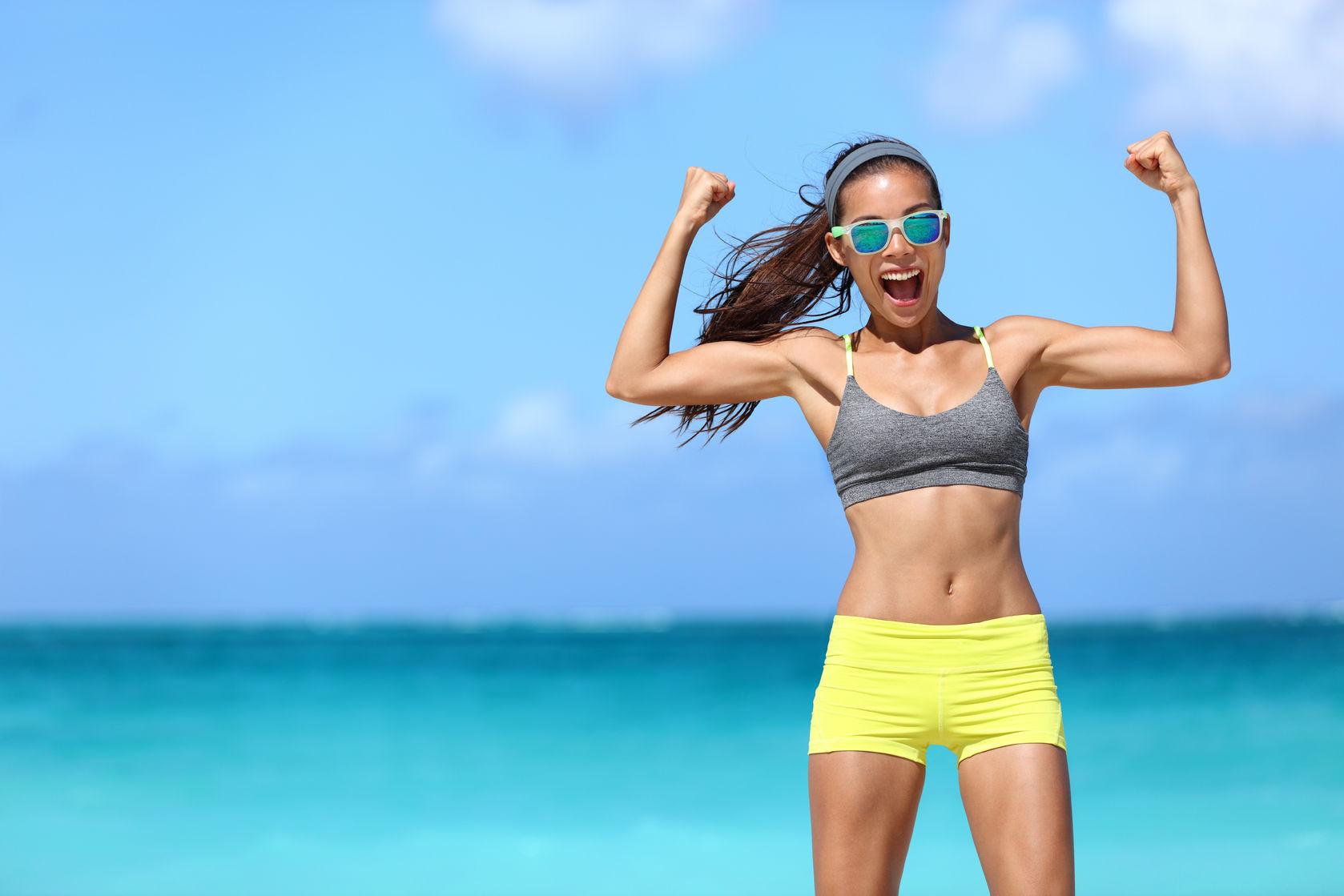 Фитнес похудей к лету